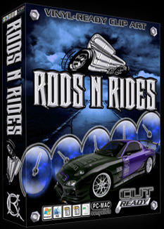 Hot Rods & Vehicle Clipart - Vector clipart - Best Cut Ready ...