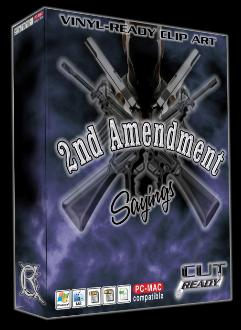 2nd Amendment Clipart Vector Clipart Best Cut Ready